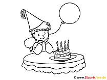 Kolorowanki urodzinowe