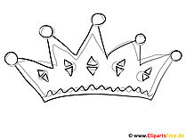 Kolorystyka obrazka korona