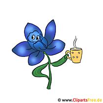 Blume Grafik Clipart gratis