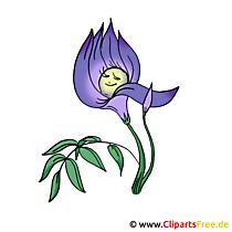 Çiçek resimleri ve grafikleri ücretsiz - Menekşe resmi