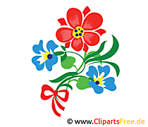 Flower Clip Art można pobrać i wydrukować bezpłatnie