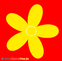 Gratis Cliparts Gelbe Blume
