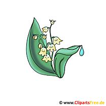 Vadideki Zambaklar - Çiçek Resimleri ve Grafikler