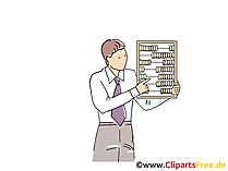 Abakus Clipart, Grafik, Bild, Cartoon