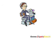 Angestellter Clipart, Grafik, Bild, Cartoon
