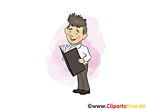 Berater Clipart, Bild, Grafik, Cartoon gratis