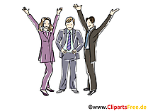 Berater, Consulting Clipart, Grafik, Bild, Cartoon