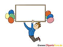 Beschriften Illustrationen und Clipart