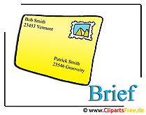 Brief Clipart-Bild Office