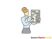 会計士のクリップアート、グラフィック、画像、漫画