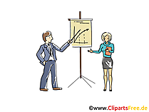 Business-Präsentation Clipart, Grafik, Bild, Cartoon