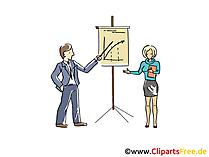 ビジネスプレゼンテーションのクリップアート、グラフィック、画像、漫画