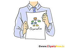 Business Plan Clipart, Grafik, Bild, Cartoon