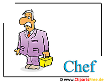 シェフ漫画のクリップアート画像無料