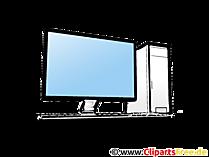Dekstop PC Clipart
