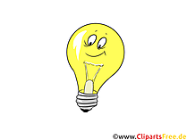 Glühbirnen Bilder für Präsentationen