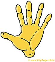 Hand Clip Art gratis