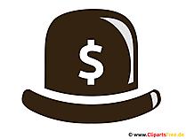 Hut mit Dollar-Zeichen