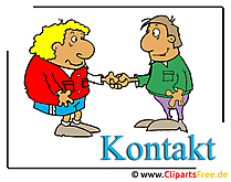Lizenzfreie Clipart Kontakt