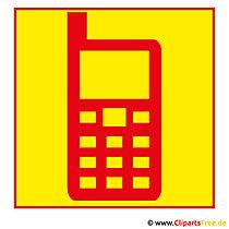 Mobiles Telefon Clipart