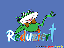 Reduziert, Shopping, Schlussverkauf Illustration, Bild, Cartoon, Clipart