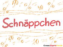 Schnäppchen Plakat, Bild, Clipart