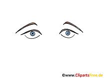 Augen Zeichnung