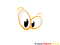 Cartoon Augen Clipart