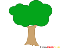 Cartoon Baum Clip Art