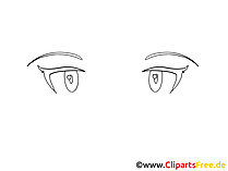 Comic Augen Bilder