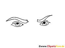 漫画の目のクリップアート、写真、グラフィック、イラスト