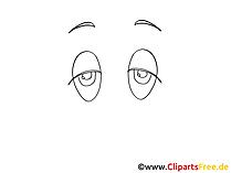 Comic Augen erstellen