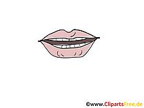 Mund Bild, Zeichnung, Cartoon