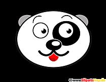 Panda Baer Clip Art