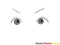 Zeichnung Augen