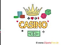 カジノの写真、クリップアート、イラスト