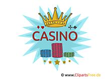 カジノのクリップアート、画像、図、イラスト