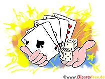 カジノのクリップアート