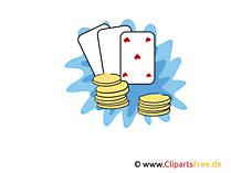 カジノ無料のクリップアート、写真