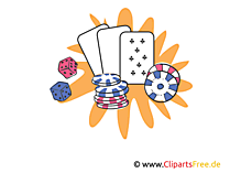 ポーカーオンラインクリップアート、イラスト、画像