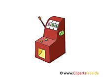 スロットマシンの図、画像、クリップアートカジノ