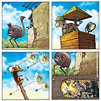 Gefängnis Comic online
