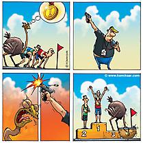 Sport Comics - Strauss Champion