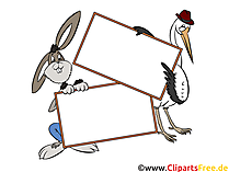 Clip Art Animals boş oturum tutun