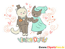 Clipart Danke kostenlos Hochzeit