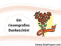 Dankeschoen Sprueche - Ein riesengrosses Dankeschoen