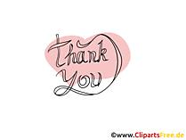 Darmowe Kliparty Dziękuję - Dziękuję