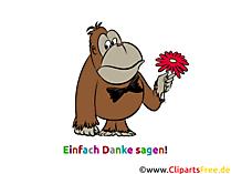 Gratis Clipart Einfach Danke sagen gratis