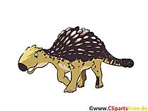 Ankylosaurus Resim - dinozor resimleri, çizgi film, ücretsiz çizimler