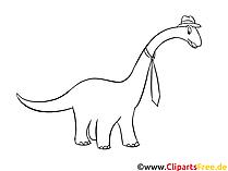 Apatosaurus boyama kitabı - Dinozor resimleri